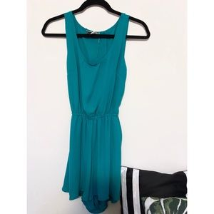 Teal Romper (XS) - Worn ONCE